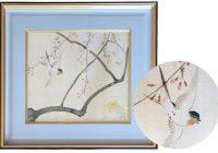japan,art,frame,sakai hoitsu,bird