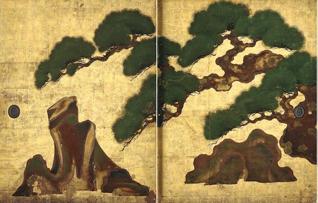 japan,kyoto,yogen-in,tawarawa-sotatsu,rimpa, art