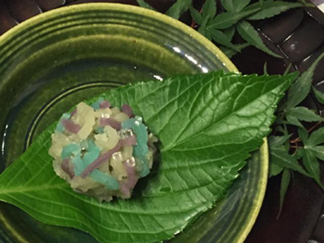 Japan, food, sweets,tsuruyayosinobu, hydrangea