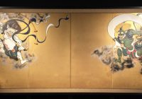 japan, kyoto, kennin-ji, wind-god-and-thunder-god