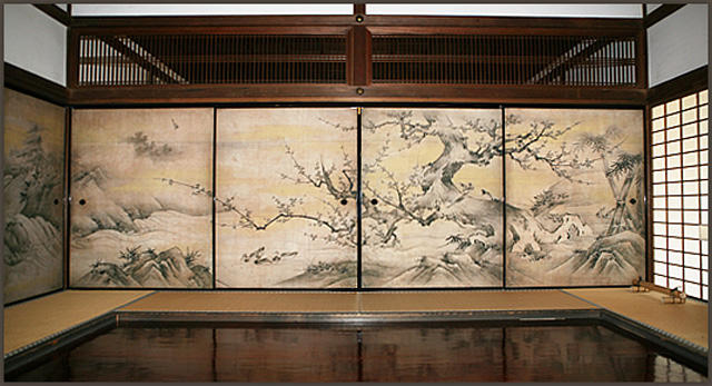 kyoto, daitokuji, art, kanou eitoku