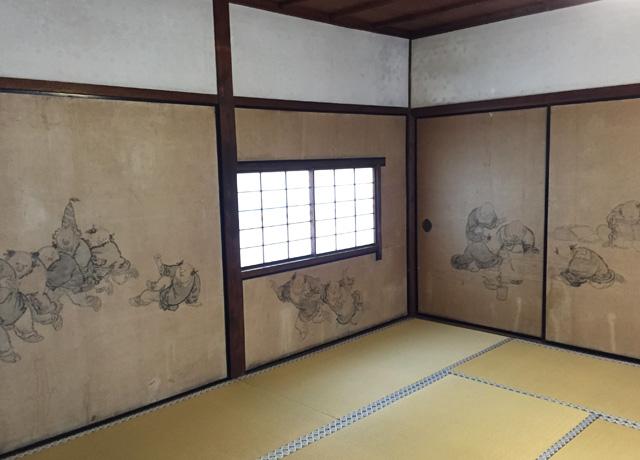 japan, kyoto, kennin-ji, wind-god-and-thunder-god