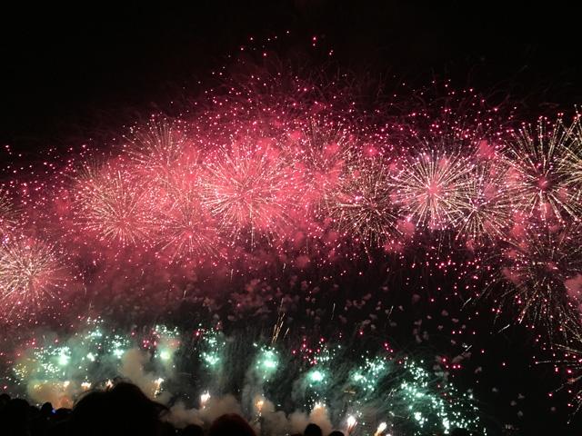 japan, fireworks