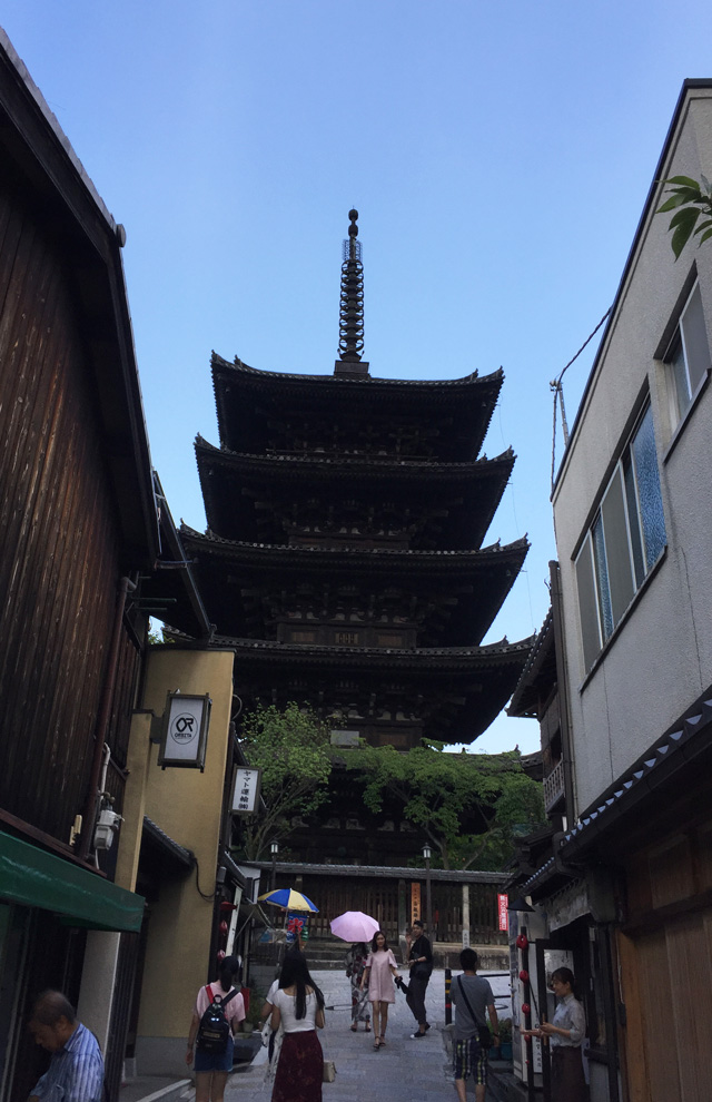 kyoto, entoku-in, yasaka-tower