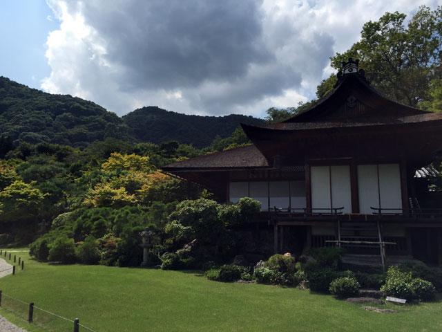kyoto, Okochi Sanso, garden