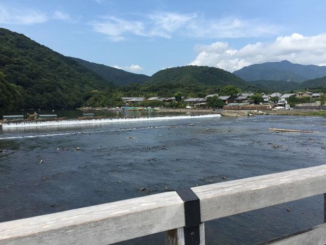 kyoto, arashiyama, togetsu bridge